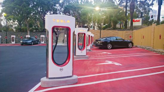 Nuevo supercargador de Tesla en España