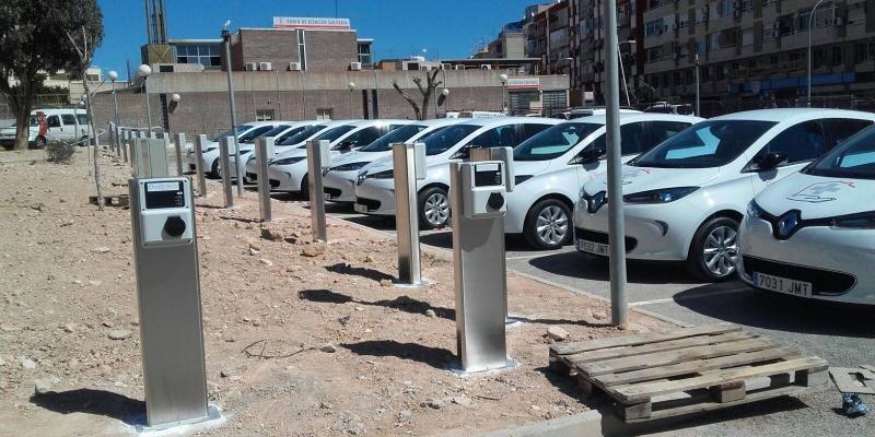 17 nuevos puntos de recarga en el Hospital General de Alicante