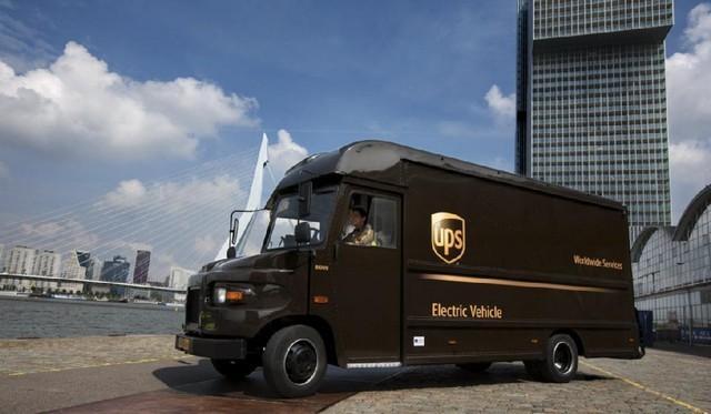 UPS ya prepara reparto de última milla en furgonetas eléctricas.