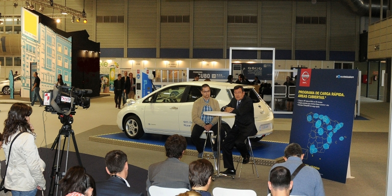 Nissan lanza el despliegue 100% en España del Nissan Leaf