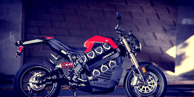La moto eléctrica BRAMMO ya se vende en España