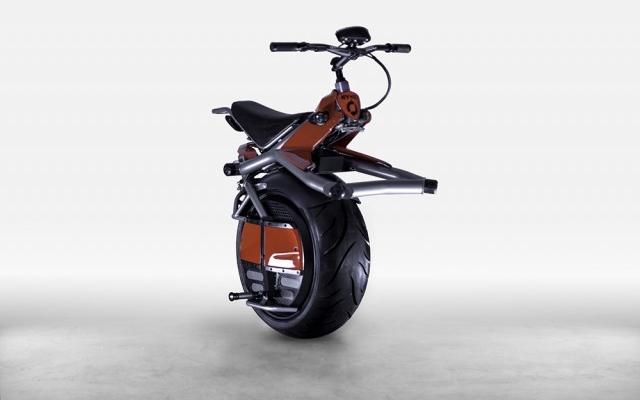 La moto eléctrica del futuro tiene sólo una rueda