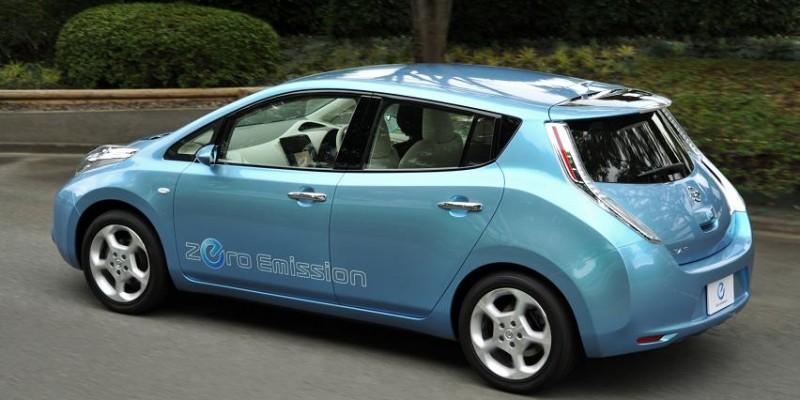 El Nissan Leaf, el coche eléctrico líder en Europa