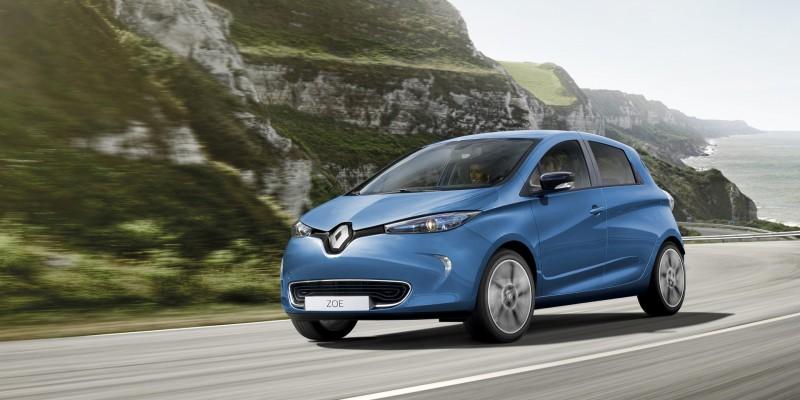 Febrero de 2018: Renault ZOE el coche eléctrico más vendido en España