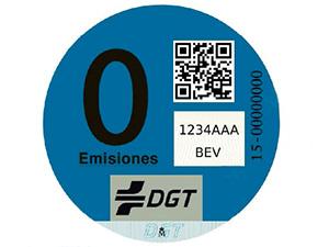 Distintivo nacional de Cero Emisiones