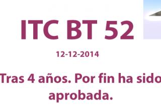 La ITC-52 ha sido aprobada