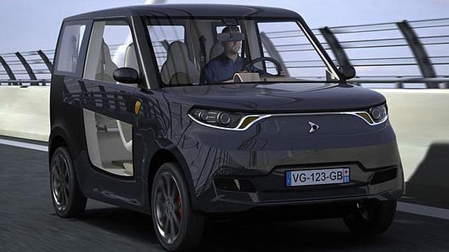 Un vehículo eléctrico completamente reciclable hecho con materiales naturales