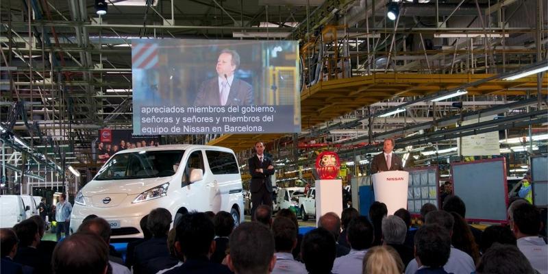 Nissan arranca la producción de la e-NV200