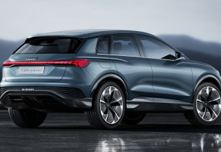 Nuevo Audi Q4 e-tron en el Salón de Ginebra