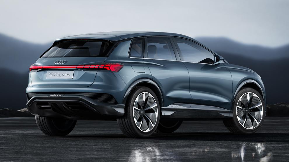 Nuevo Audi Q4 e-tron SUV Electrico