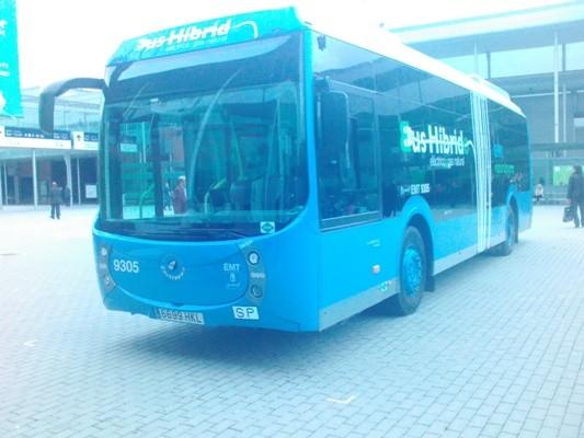 Matelec nos enseña los autobuses híbridos que circulan por Madrid