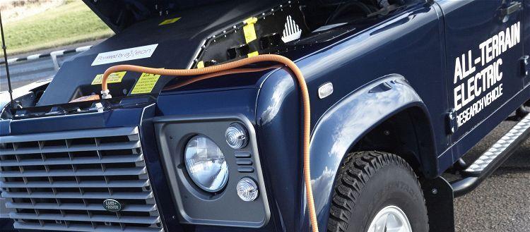 Land Rover Defender (100% eléctrico)