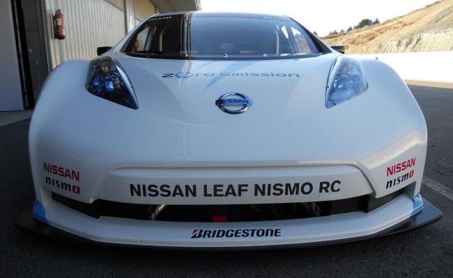 Nissan Leaf Competición