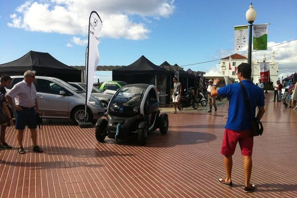 Vehículos eléctricos desde Alemania para la Muestra Medioambiental de Lanzarote