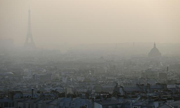 La crisis ecológica de París como espejismo del futuro cercano