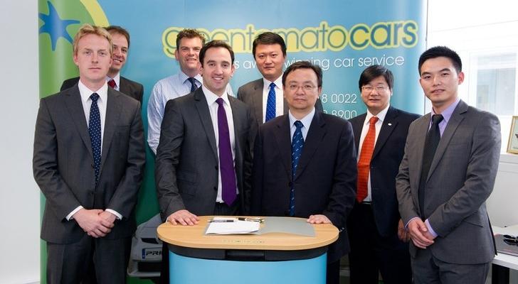 Los taxis eléctricos llegarán a Londres la próxima primavera