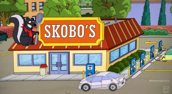 Los Simpsons ya tienen sus propias estaciones de recarga