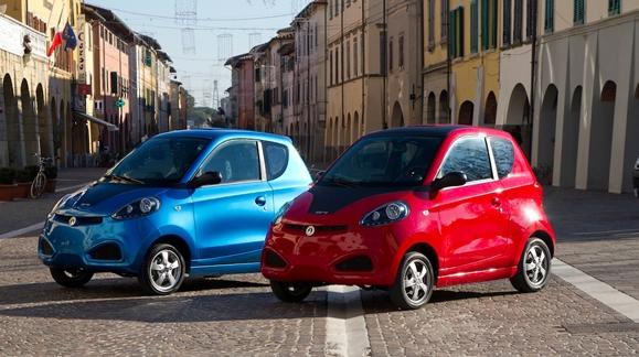 GreenGo i.Car0, el coche eléctrico italiano