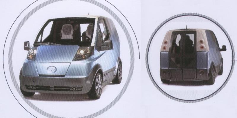 Quicci, el coche eléctrico de Sinoev