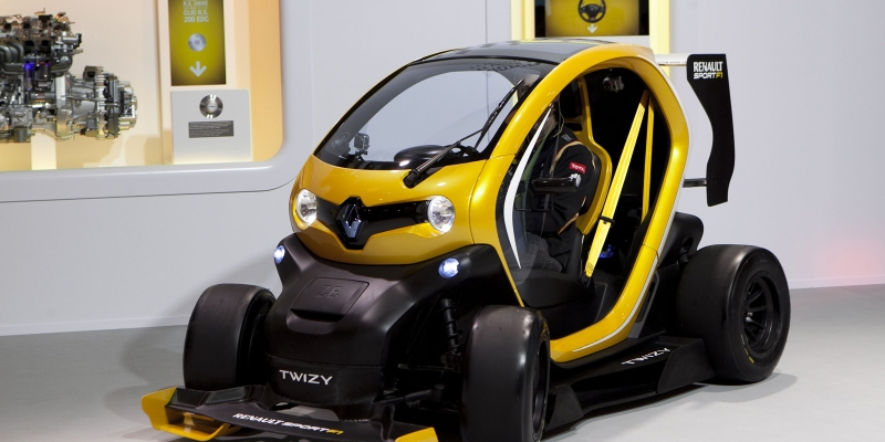Renault Twizy Sport F1, ¡presentado!
