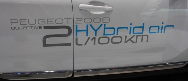 Peugeot 2008 (el híbrido de aire)