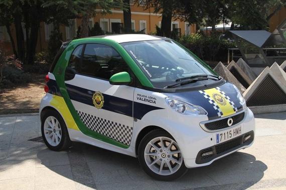 El Smart Fortwo Electric Drive patrullará Valencia