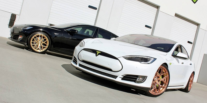 Kit deportivo para el Tesla Model S.