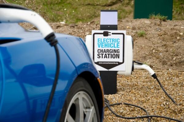 puntos de recarga coches eléctricos