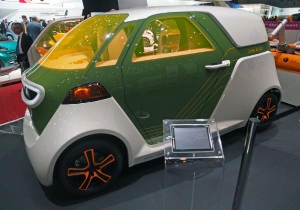 akka coche eléctrico salón de ginebra 2013 burbuja verde