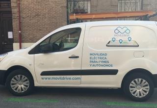 Ya es posible alquilar furgonetas eléctricas por horas. ¡Os presentamos a MovilDrive!