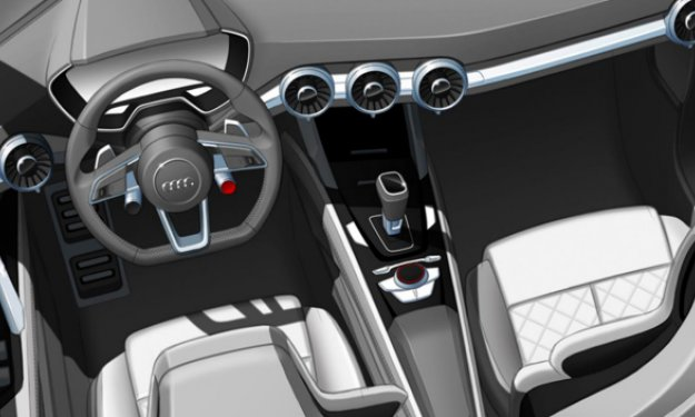 EL Audi Q4 Presenta sus primeros bocetos