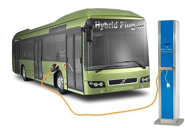 Autobus eléctrico compañía china recarga