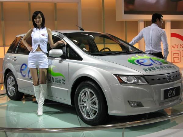 coche eléctrico conocimiento china
