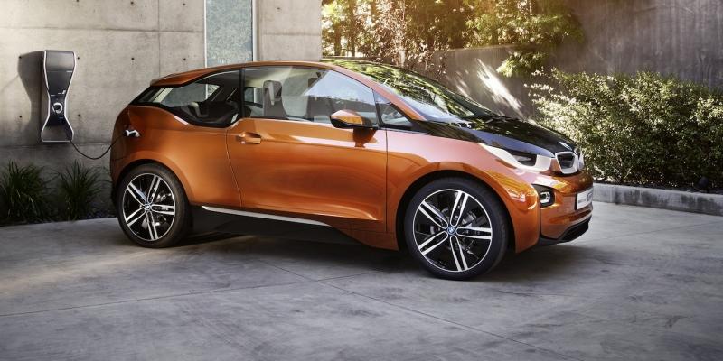 La recarga del coche eléctrico BMW i3