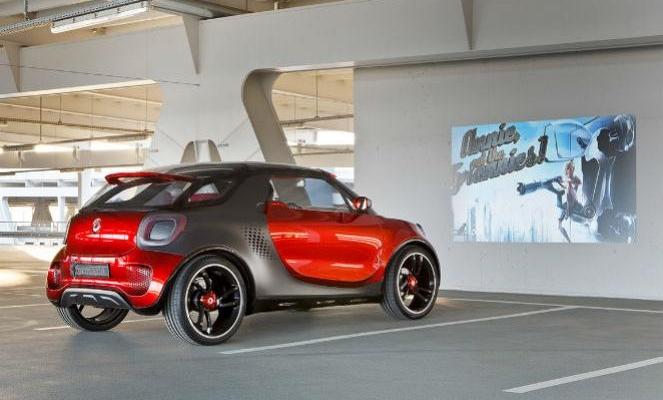 Smart Forstars: Vehículo eléctrico cien por cien cinéfilo