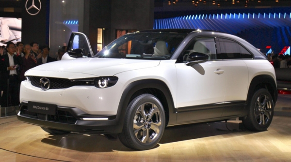 Mazda MX 30 mejor coche electrico 2020