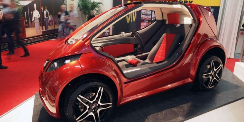 Colibri, el pequeño coche eléctrico de gran capacidad