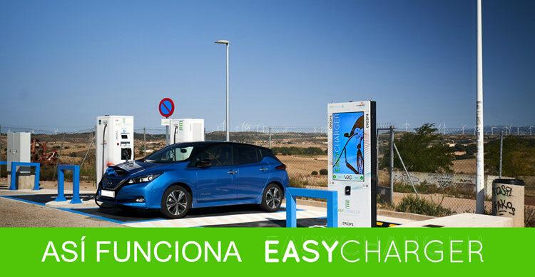 Estación de carga EasyCharger para vehículos eléctricos