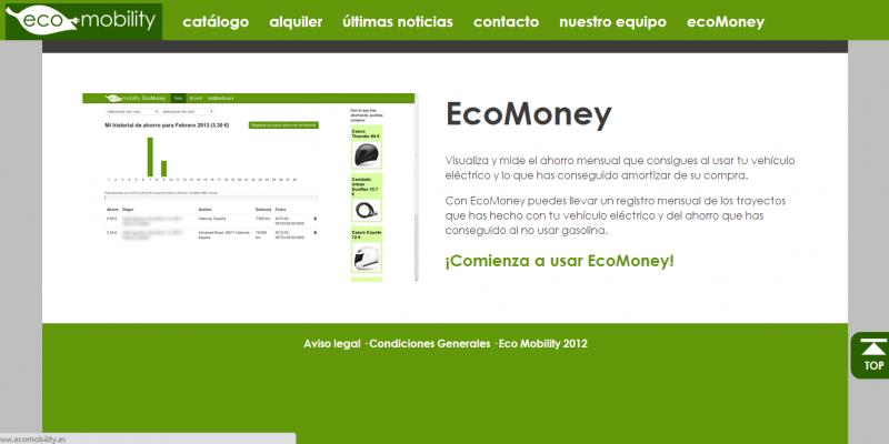 EcoMoney, una aplicación para ver como amortizas tu vehículo eléctrico