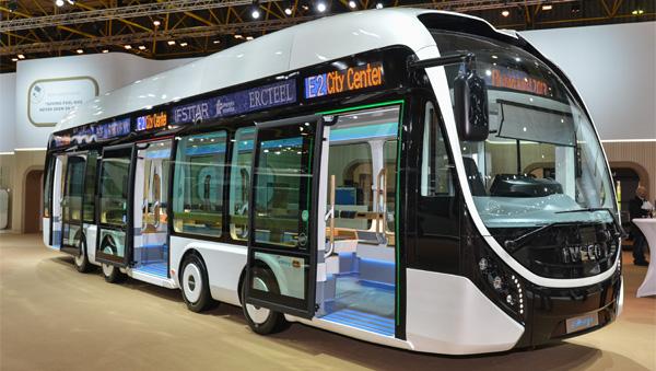 Iveco muestra su prototipo de autobús eléctrico