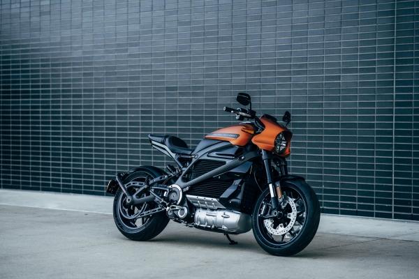 Una de las tantas motos eléctricas que circulan hoy en día por nuestras calles.