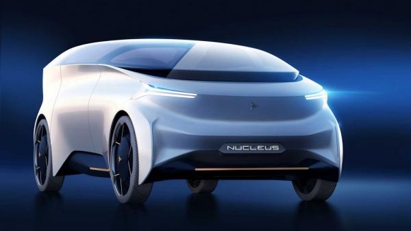 Icona Nucleus coche autonomo