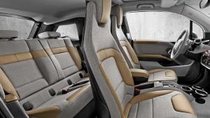 diseño interior BMW i3