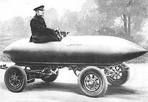 El primer vehículo en superar los 100km/h fue un coche eléctrico
