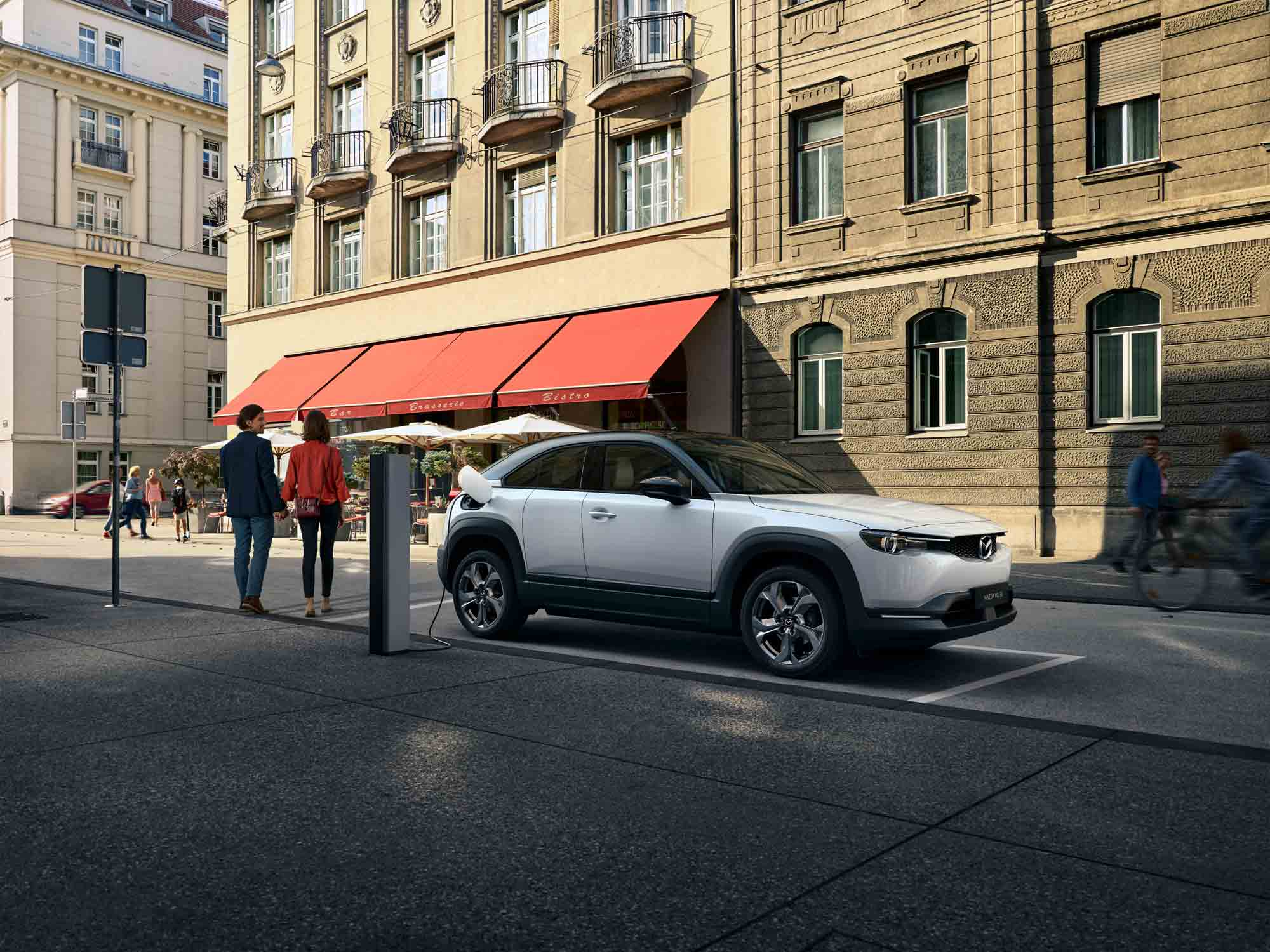 Punto de recarga del Mazda MX-30