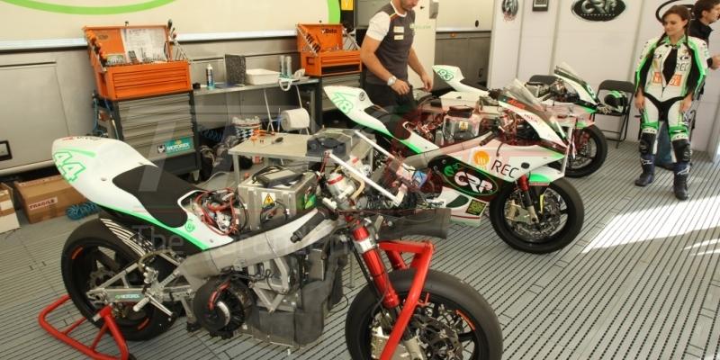 Las mejores motos eléctricas de competición GRATIS en Cheste