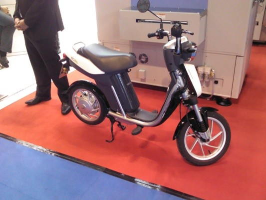 La moto eléctrica de Yamaha