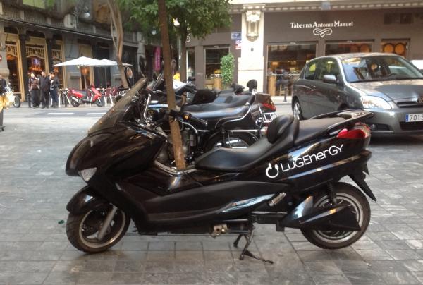 moto electrica valencia