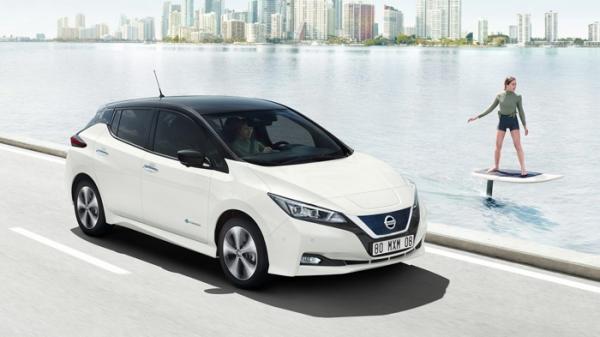 nissan leaf mejor coche electrico de 2020