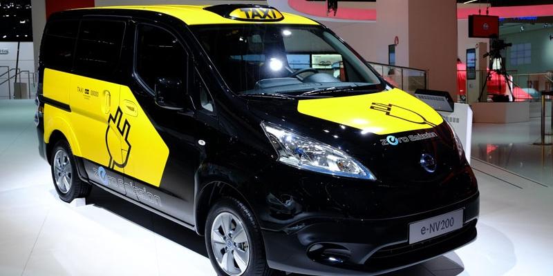 El nuevo vehículo eléctrico de Nissan, el e-NV200, en Japón a partir del 2014